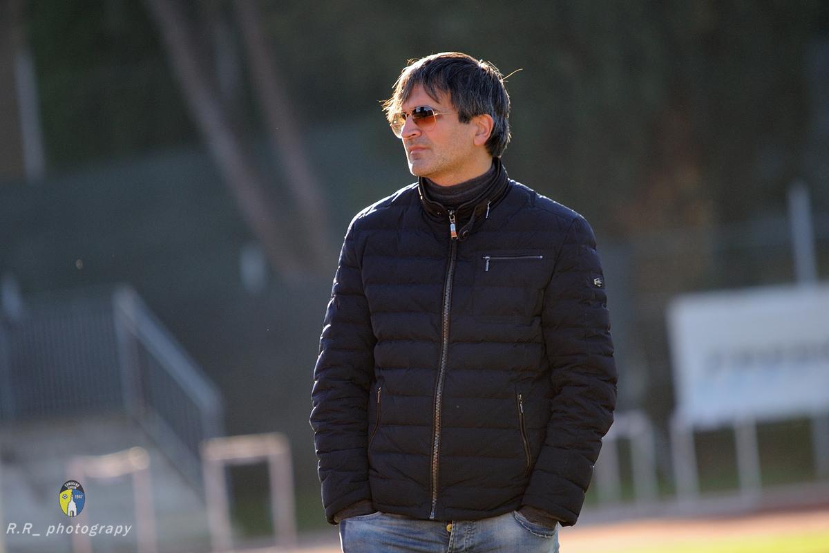 Il DS Massimiliano Trozzi