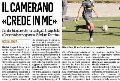 2019_01_16 - Camerano, intervista a Filippo Papa