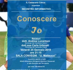 Locandina scuola calcio ELITE_editabile_incontro 25 gennaio 2019