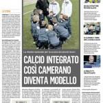 Calcio Integrato, pagina intera Corriere Adriatico